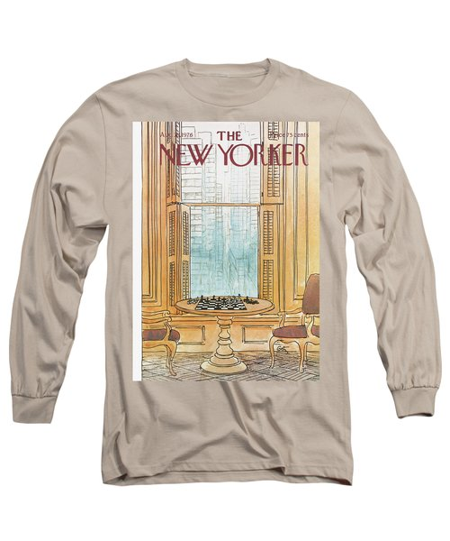 New Yorker August 30th, 1976 Long Sleeve T-Shirt