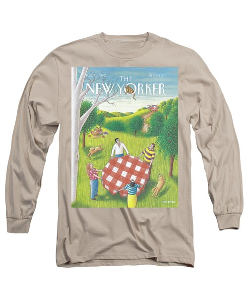 New Yorker August 31st, 1992 Long Sleeve T-Shirt