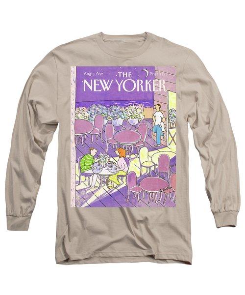 New Yorker August 3rd, 1992 Long Sleeve T-Shirt