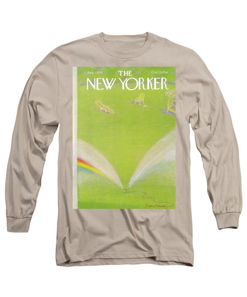 New Yorker August 7th, 1978 Long Sleeve T-Shirt