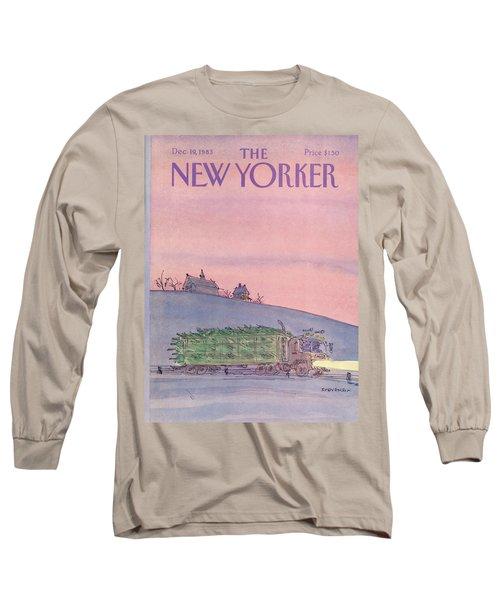 New Yorker December 19th, 1983 Long Sleeve T-Shirt