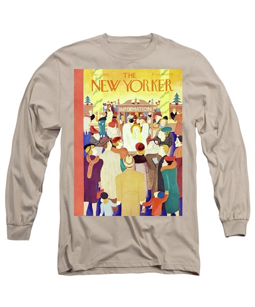 New Yorker December 2 1939 Long Sleeve T-Shirt