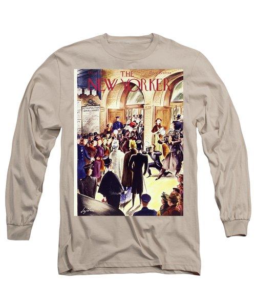 New Yorker December 4 1937 Long Sleeve T-Shirt