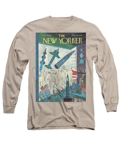 New Yorker December 9th, 1961 Long Sleeve T-Shirt