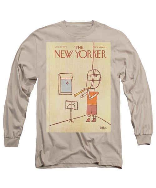 New Yorker December 9th, 1974 Long Sleeve T-Shirt