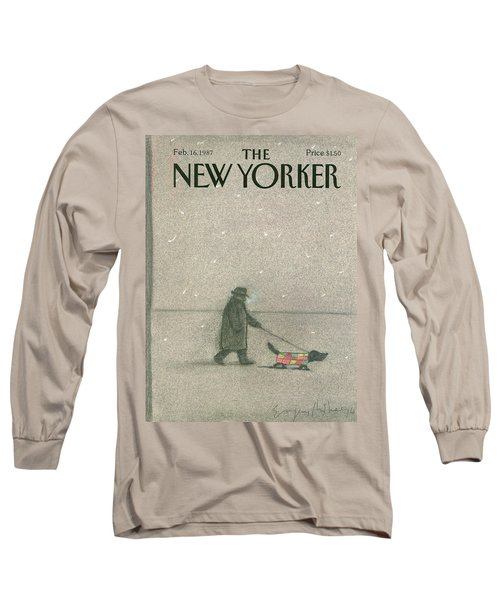 New Yorker February 16th, 1987 Long Sleeve T-Shirt