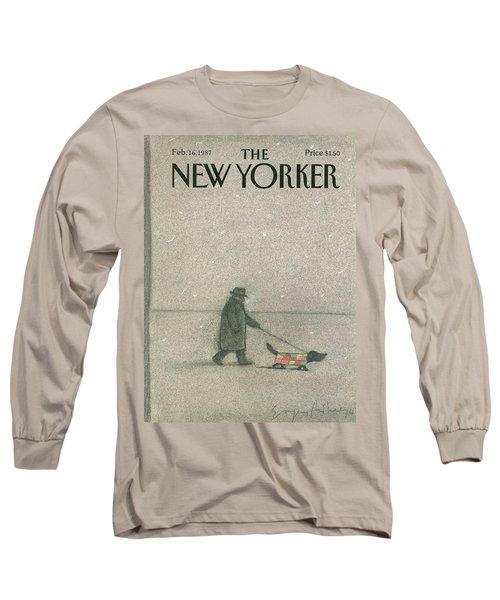 New Yorker February 16th, 1987 Long Sleeve T-Shirt