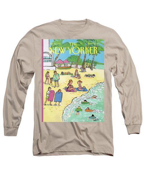New Yorker January 20th, 1992 Long Sleeve T-Shirt