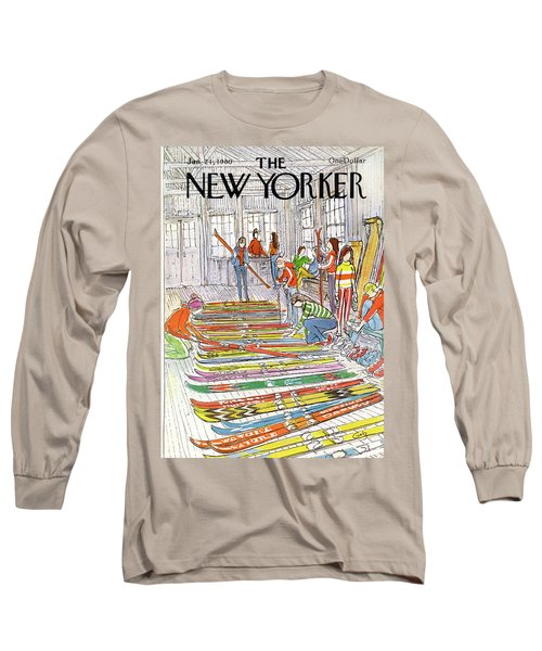 New Yorker January 21st, 1980 Long Sleeve T-Shirt