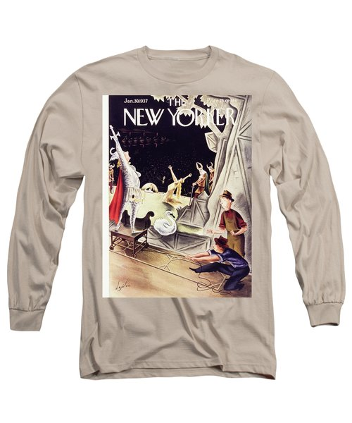 New Yorker January 30 1937 Long Sleeve T-Shirt
