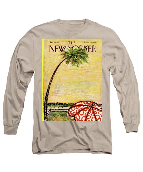 New Yorker January 5th, 1957 Long Sleeve T-Shirt