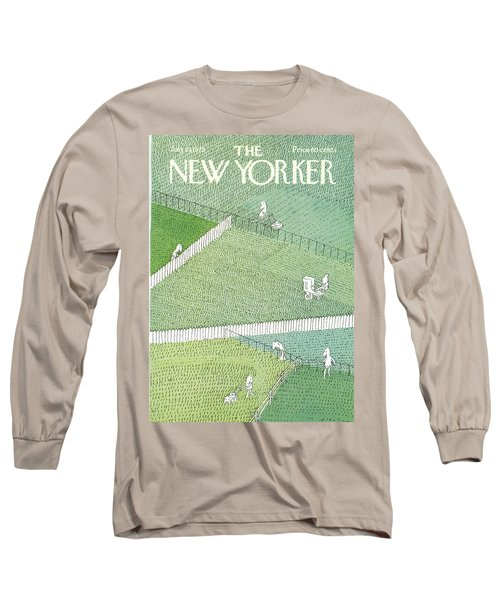 New Yorker July 21st, 1975 Long Sleeve T-Shirt