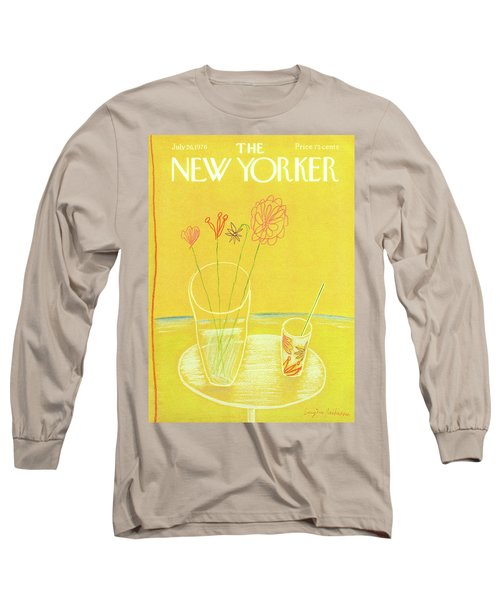 New Yorker July 26th, 1976 Long Sleeve T-Shirt