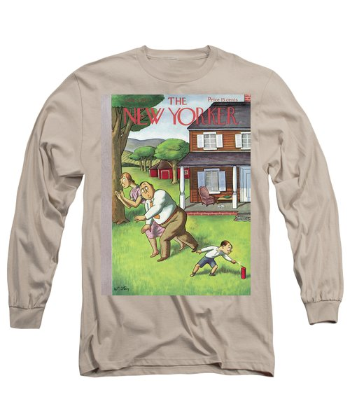New Yorker July 3rd, 1937 Long Sleeve T-Shirt