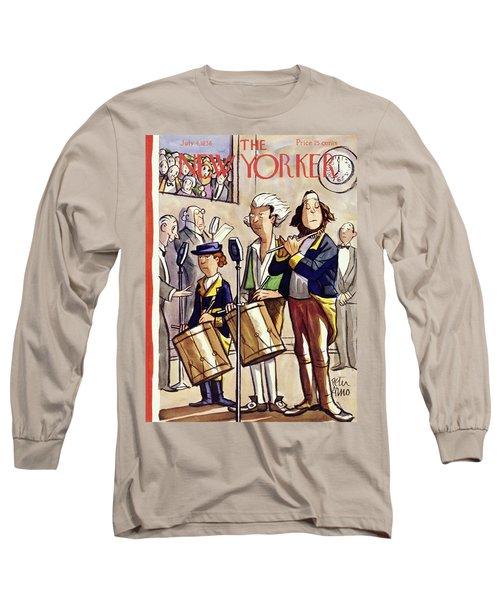 New Yorker July 4 1936 Long Sleeve T-Shirt