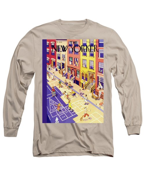 New Yorker July 9 1938 Long Sleeve T-Shirt