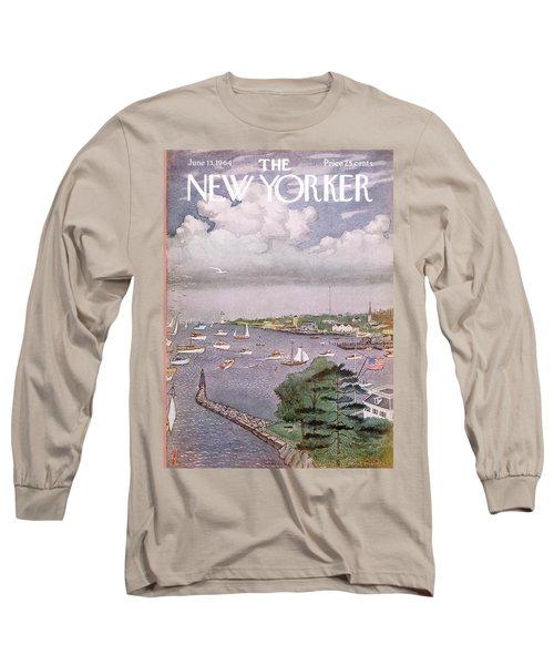 New Yorker June 13th, 1964 Long Sleeve T-Shirt