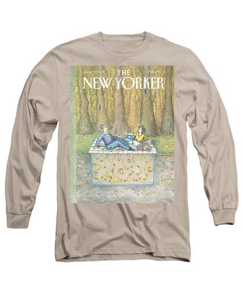 New Yorker June 15th, 1992 Long Sleeve T-Shirt
