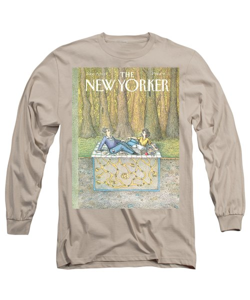 New Yorker June 15th, 1992 Long Sleeve T-Shirt