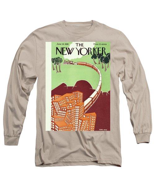 New Yorker June 19 1926 Long Sleeve T-Shirt