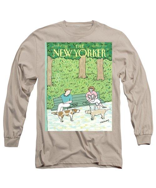 New Yorker June 27th, 1988 Long Sleeve T-Shirt