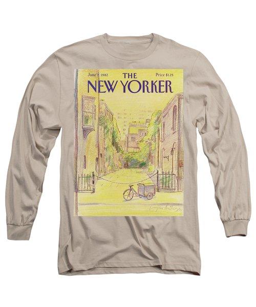 New Yorker June 7th, 1982 Long Sleeve T-Shirt