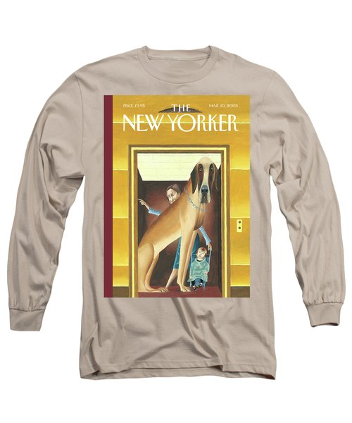New Yorker March 10th, 2003 Long Sleeve T-Shirt