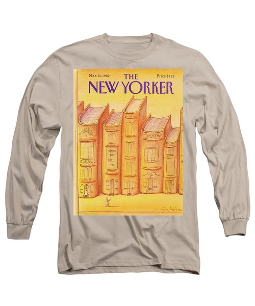 New Yorker March 15th, 1982 Long Sleeve T-Shirt