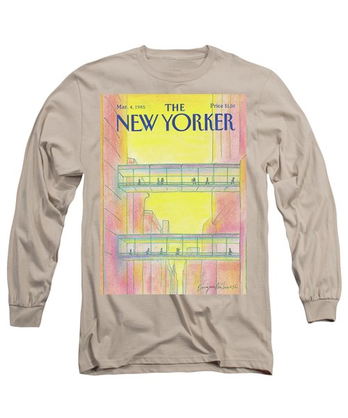 New Yorker March 4th, 1985 Long Sleeve T-Shirt