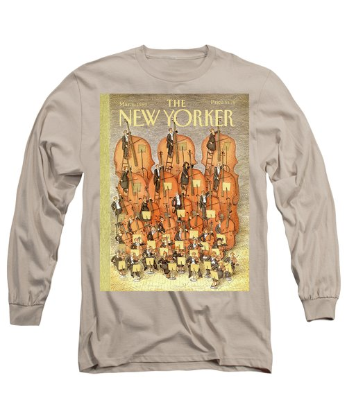 New Yorker March 6th, 1989 Long Sleeve T-Shirt