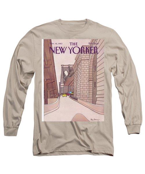 New Yorker November 14th, 1983 Long Sleeve T-Shirt
