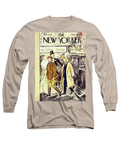 New Yorker November 5 1938 Long Sleeve T-Shirt