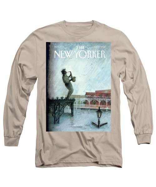 New Yorker September 12th, 2005 Long Sleeve T-Shirt