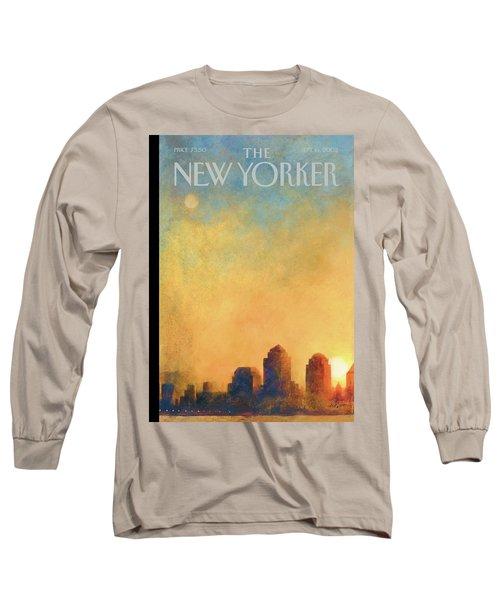 New Yorker September 16th, 2002 Long Sleeve T-Shirt