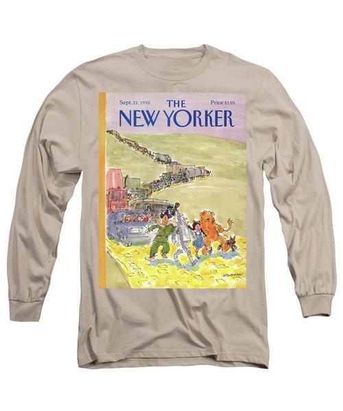 New Yorker September 21st, 1992 Long Sleeve T-Shirt