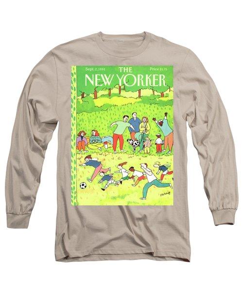 New Yorker September 2nd, 1991 Long Sleeve T-Shirt