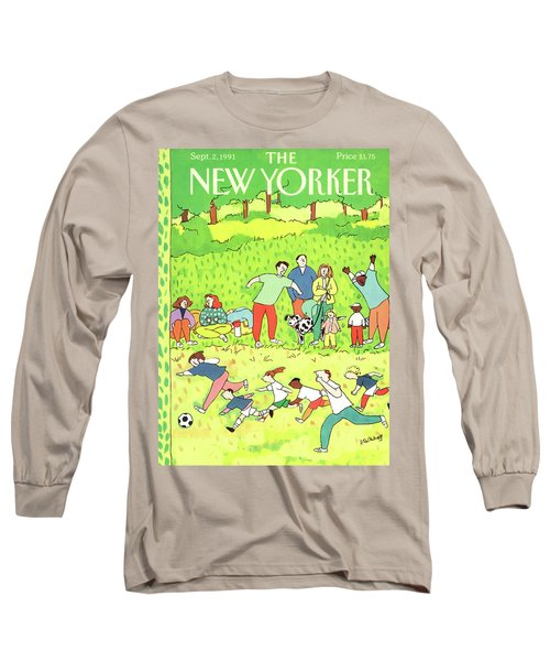 New Yorker September 2nd, 1991 Long Sleeve T-Shirt
