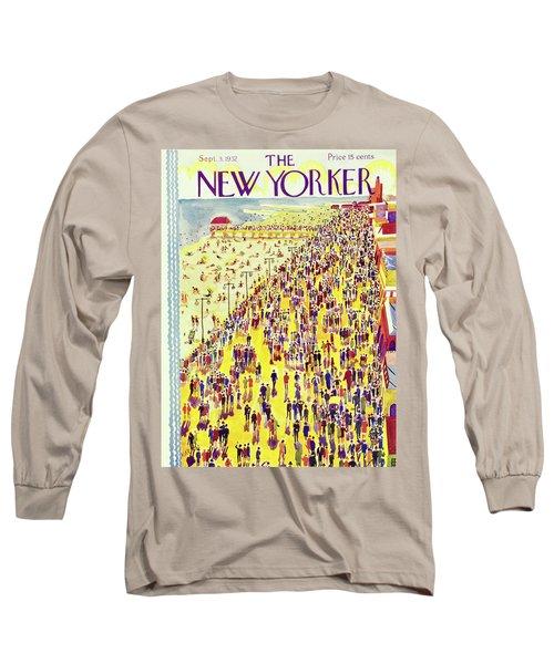 New Yorker September 3 1932 Long Sleeve T-Shirt