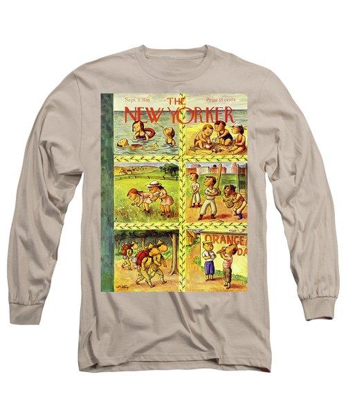 New Yorker September 3 1938 Long Sleeve T-Shirt