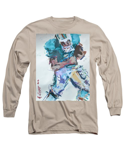 Nfl Football Painting Long Sleeve T-Shirt