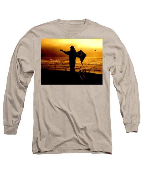 Night Flight Long Sleeve T-Shirt