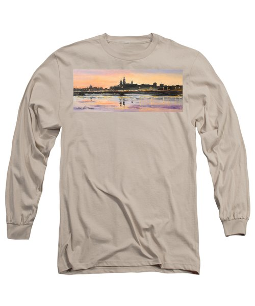 Night In Krakow Long Sleeve T-Shirt