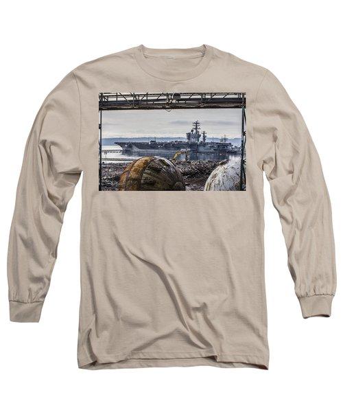Nimitz - Port Of Everett Long Sleeve T-Shirt