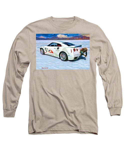 Nissan Salt Flats Long Sleeve T-Shirt