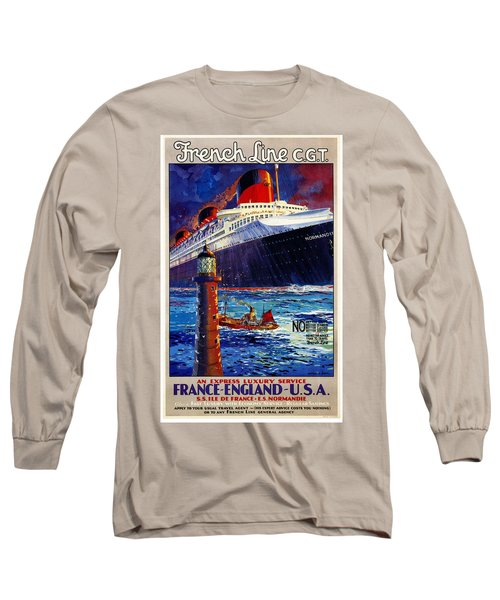 No Better Advice Than To Travel - French Line Long Sleeve T-Shirt