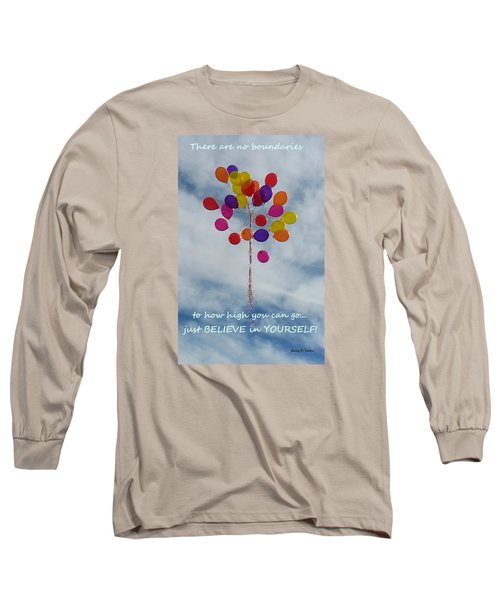 Long Sleeve T-Shirt featuring the photograph No Boundaries by Emmy Marie Vickers