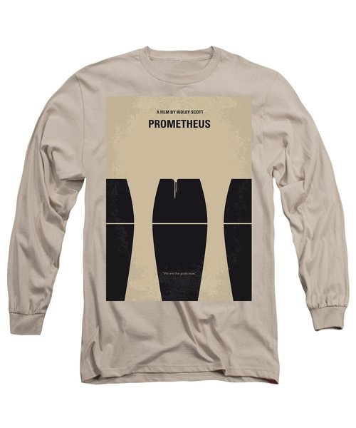 No157 My Prometheus Minimal Movie Poster Long Sleeve T-Shirt