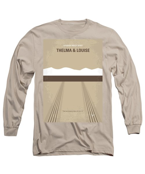 No189 My Thelma And Louise Minimal Movie Poster Long Sleeve T-Shirt