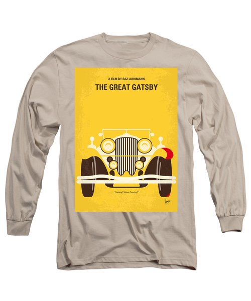No206 My The Great Gatsby Minimal Movie Poster Long Sleeve T-Shirt
