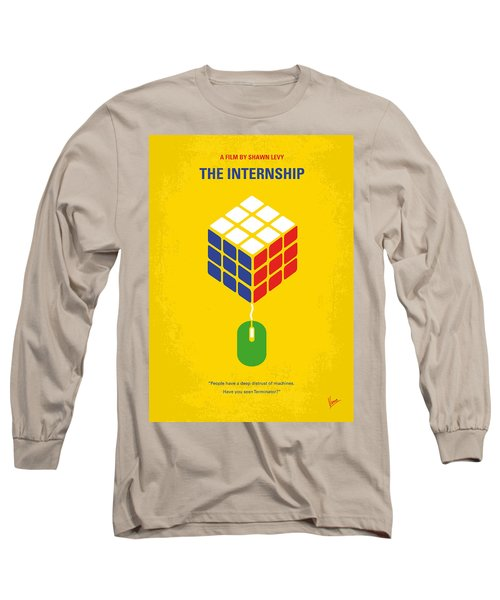 No215 My The Internship Minimal Movie Poster Long Sleeve T-Shirt